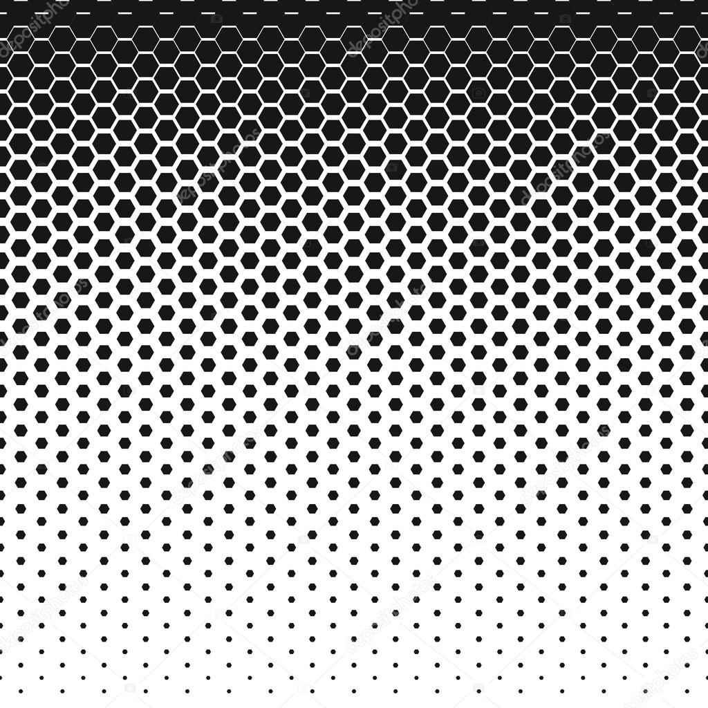 Honeycomb Halftone Vector Abstract Background Halftone