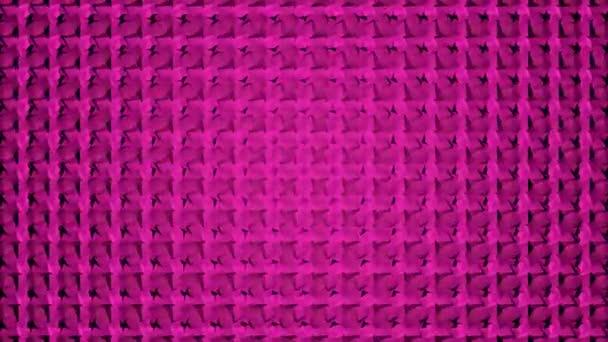 Růžové a fialové geometrické smyčka