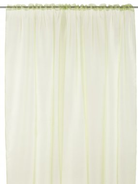 Classic translucent lime curtain.