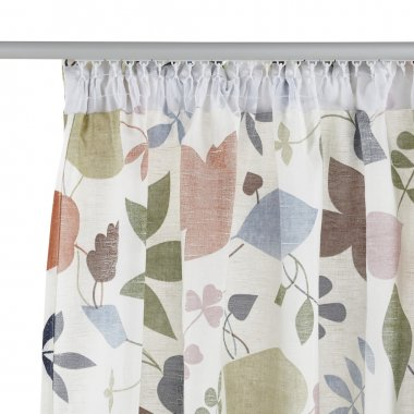 Curtain with mount