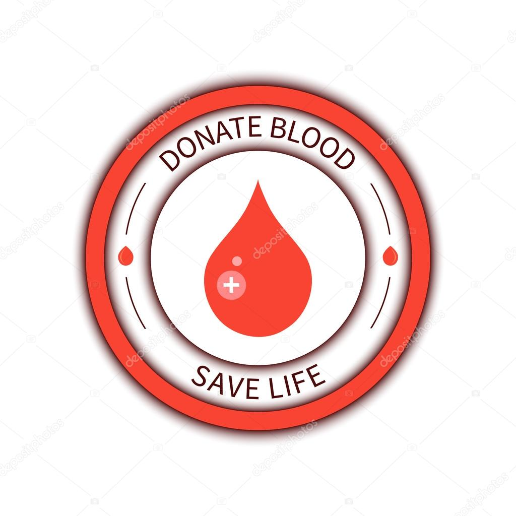 Blood donation poster stock vector naumas 107411874 blood donation medical label blood donor icon world blood donor day poster donate blood save life concept blood drop badge with a cross thecheapjerseys Image collections