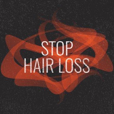 Stop hair loss sign