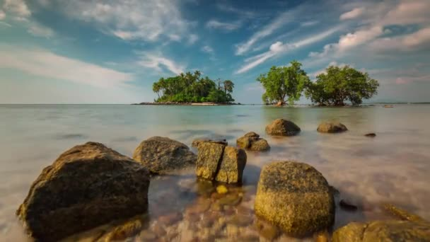 day secret beach near airport panorama 4k time lapse phuket thailand