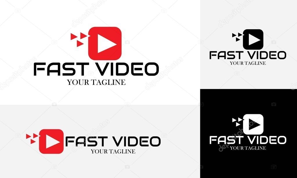 Logo Vectoriel Rapide Vido Et Carte De Visite Image Vectorielle