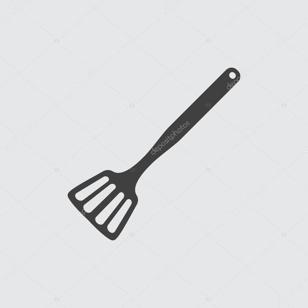 spatola icona illustrazione ? vettoriale stock #110035364 - Spatola Cucina