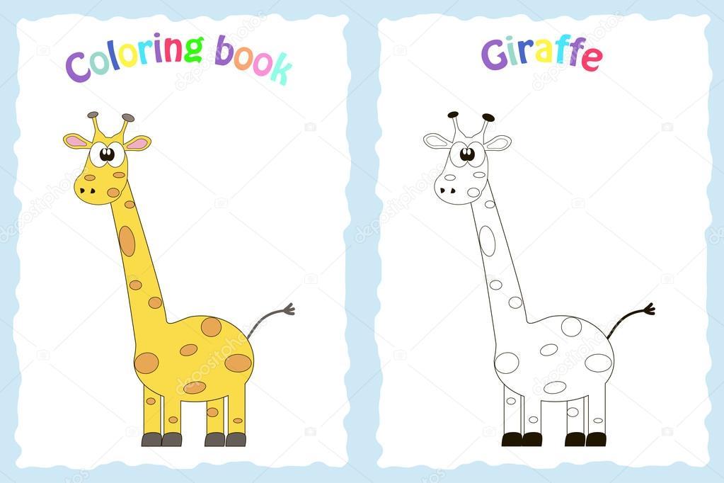 Página de libro para colorear para niños en edad preescolar ...