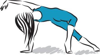 woman dancer 3 illustration
