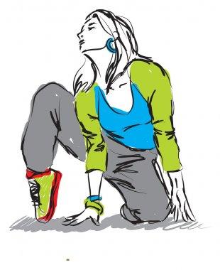 dancer hip-hop illustration1
