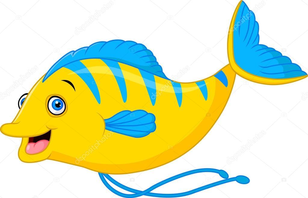 Dibujos Animados De Pescado Bonito