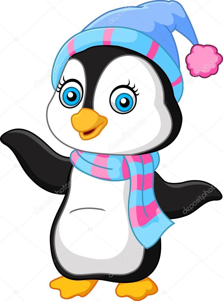 Pingouin dessin anim pr sentant image vectorielle dreamcreation01 123556304 - Dessin anime les pingouins ...