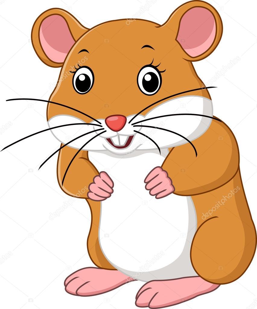 Caricaturas De Ratones Graciosos Caricatura Lindo Del