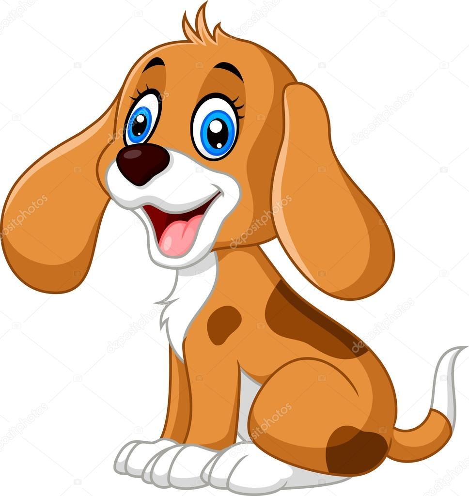 desenho cachorro bonito vetores de stock dreamcreation01 123667288