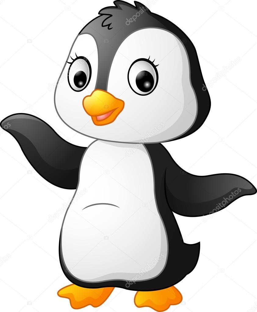 Pinguin Comic