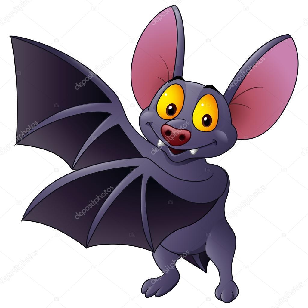Preferência Desenhos animados morcego acenando — Vetor de Stock  GD48