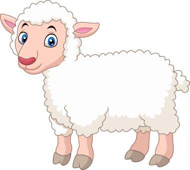 Cartoon cute lamb