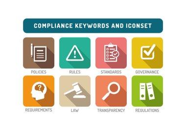 Compliance Icons Set