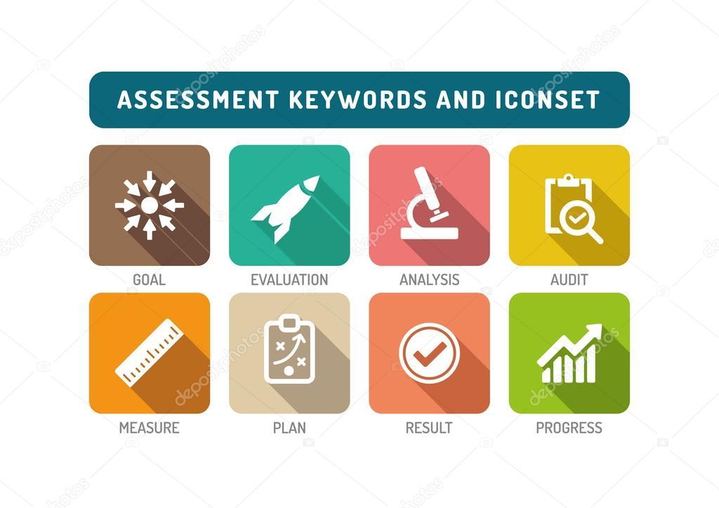 Assessment Icons Set