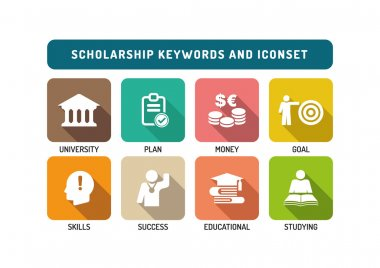 Scholarship Icons Set