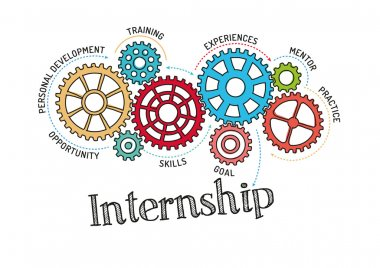 Gears and Mechanisms with text Internship