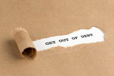 torn brown paper