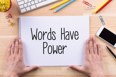 Words Have Power  text