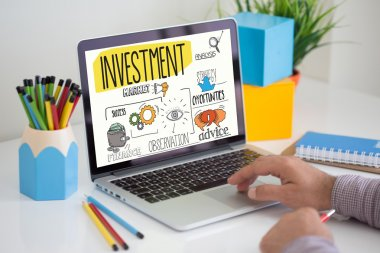 INVESTMENT text on screen.