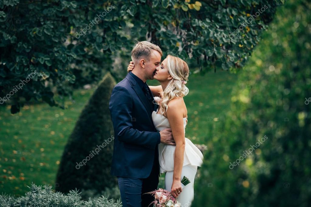 Wedding elegant couple
