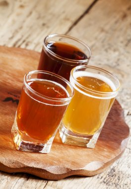 Three kinds of beer
