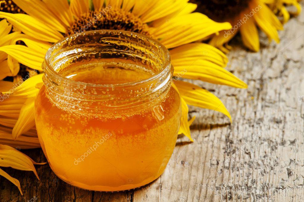какой мед из подсолнечника