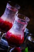 Fotografie Alkoholischen cocktail königlichen Schuss