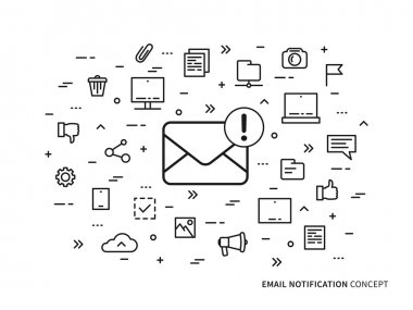 Linear e-mail notification