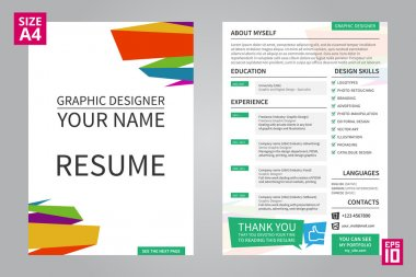 Minimalist cv - resume template