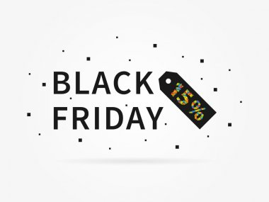 Black Friday 15 % discount