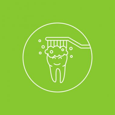 Dental tooth cleaning (washing)