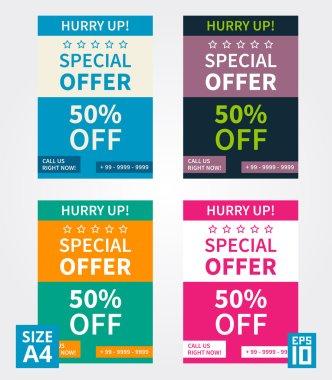Flyer design Special Offer