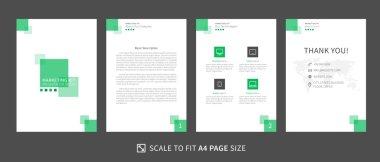 Presentation template marketing kit 5