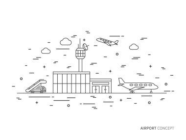 Airport line concept