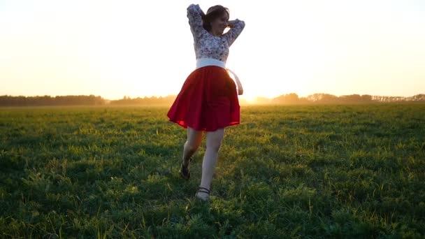 lány szép ruhát, szórakozás területén