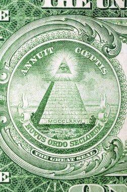 Masonic symbol for One US dollar 1935th