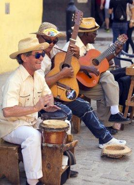 Streets musicians of Cuba