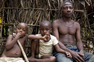Bagyeli Pygmies from Cameroon