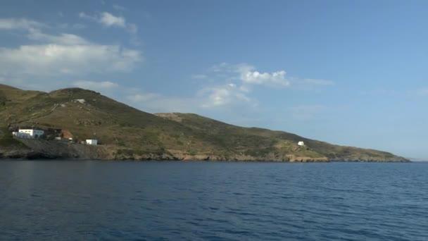 Coast of Greek island.