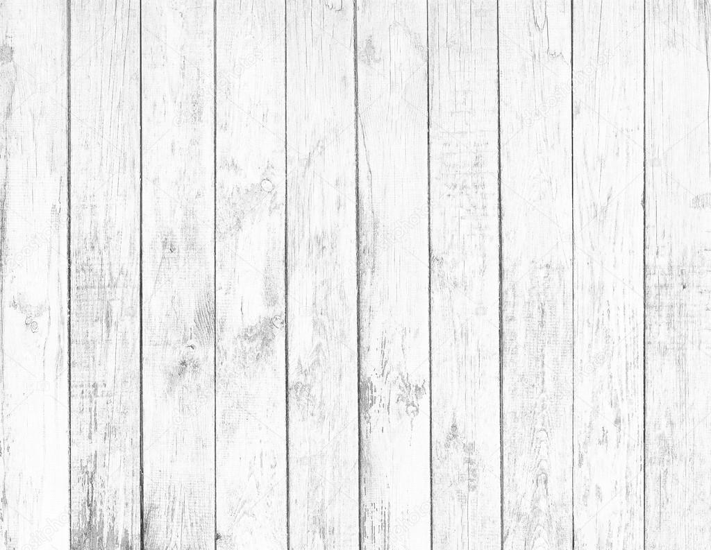 Foto: Textura Madera Vieja Blanca