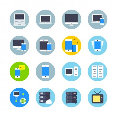 Colorful Devices icons