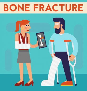 Bone fracture characters