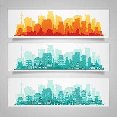 Cities skyline set