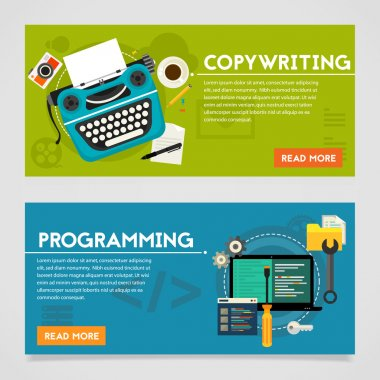 Programming and Copywriting Banners