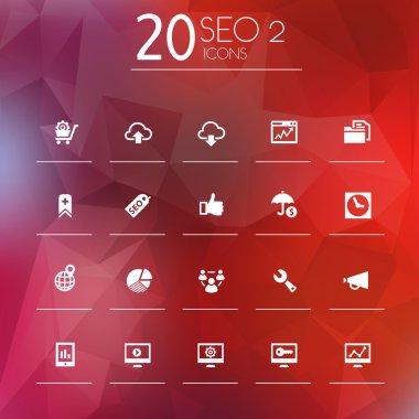 SEO  icons set