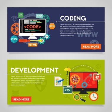 Development and Coding Banners