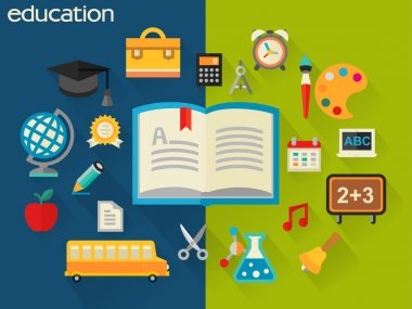 school and education concept